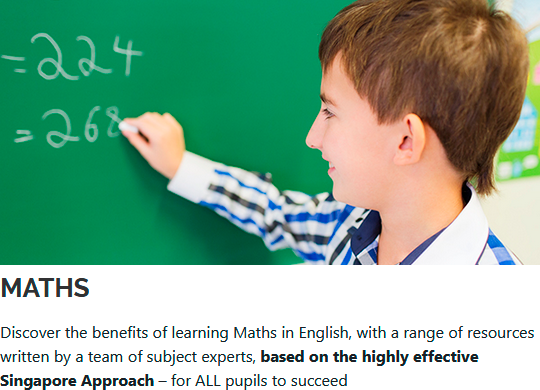 Discover the benefits of learning Maths in English